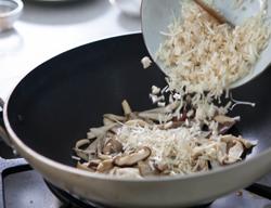 百菇海苔蓋飯